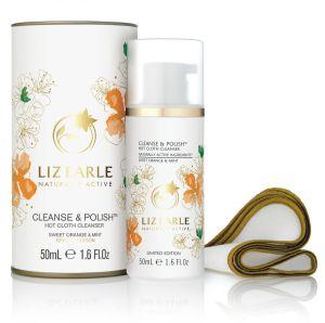 liz earle cleane and polish orange and mint